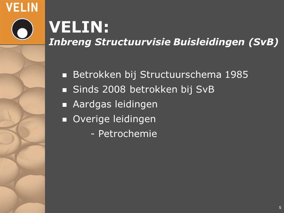VELIN: Inbreng Structuurvisie Buisleidingen (SvB)