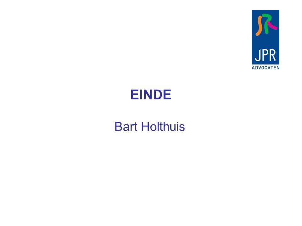 EINDE Bart Holthuis