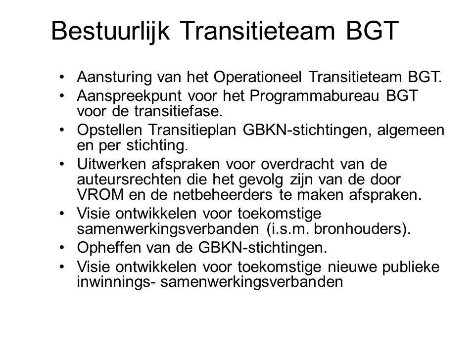 Bestuurlijk Transitieteam BGT