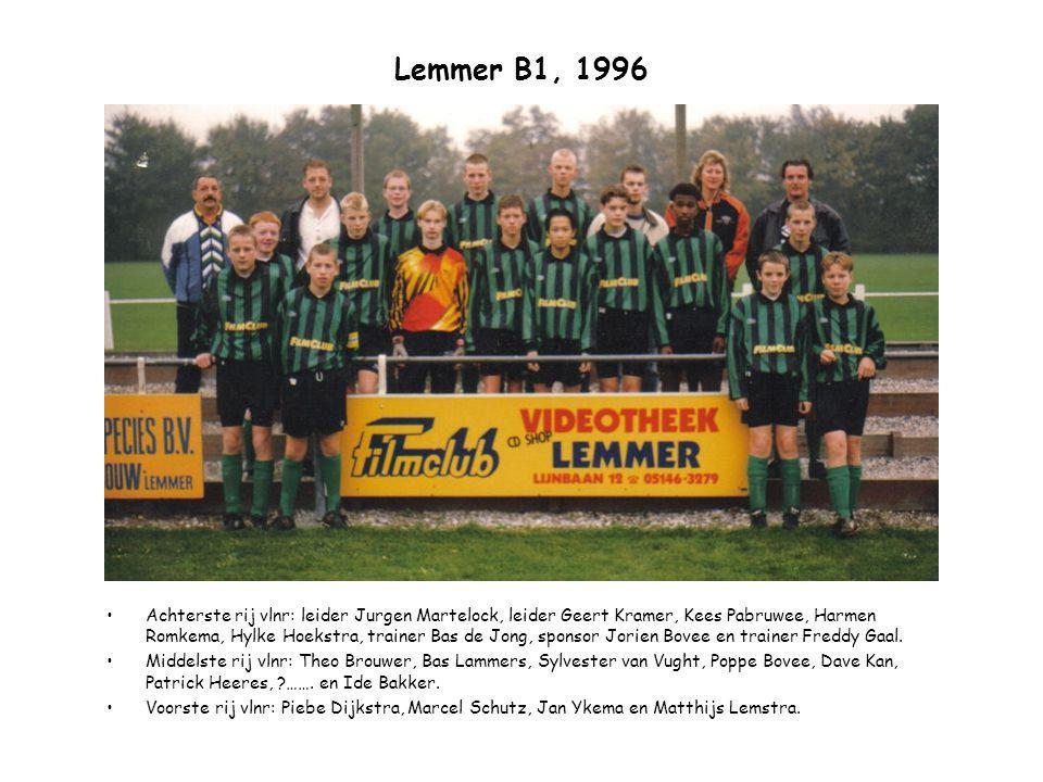 Lemmer B1, 1996