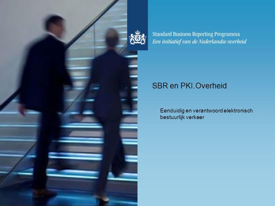 Eenduidig en verantwoord elektronisch bestuurlijk verkeer