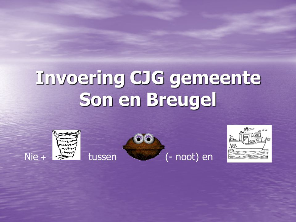 Invoering CJG gemeente Son en Breugel