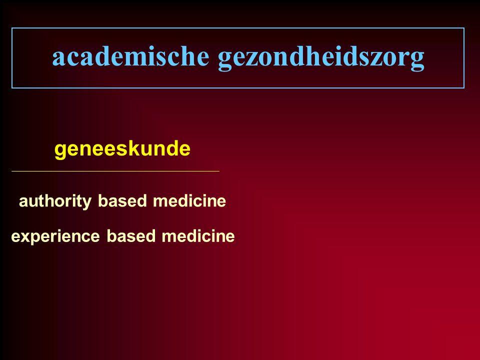academische gezondheidszorg