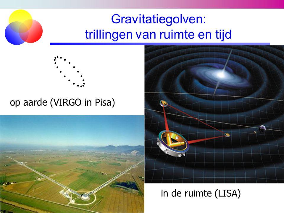 Gravitatiegolven: trillingen van ruimte en tijd