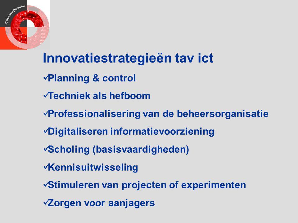 Innovatiestrategieën tav ict