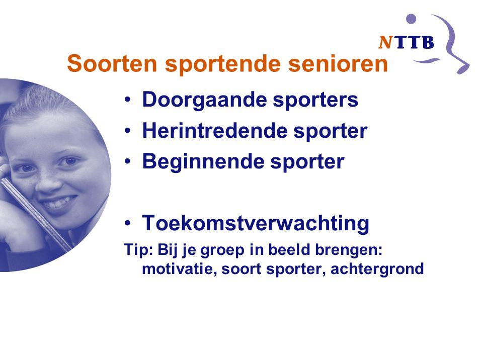 Soorten sportende senioren