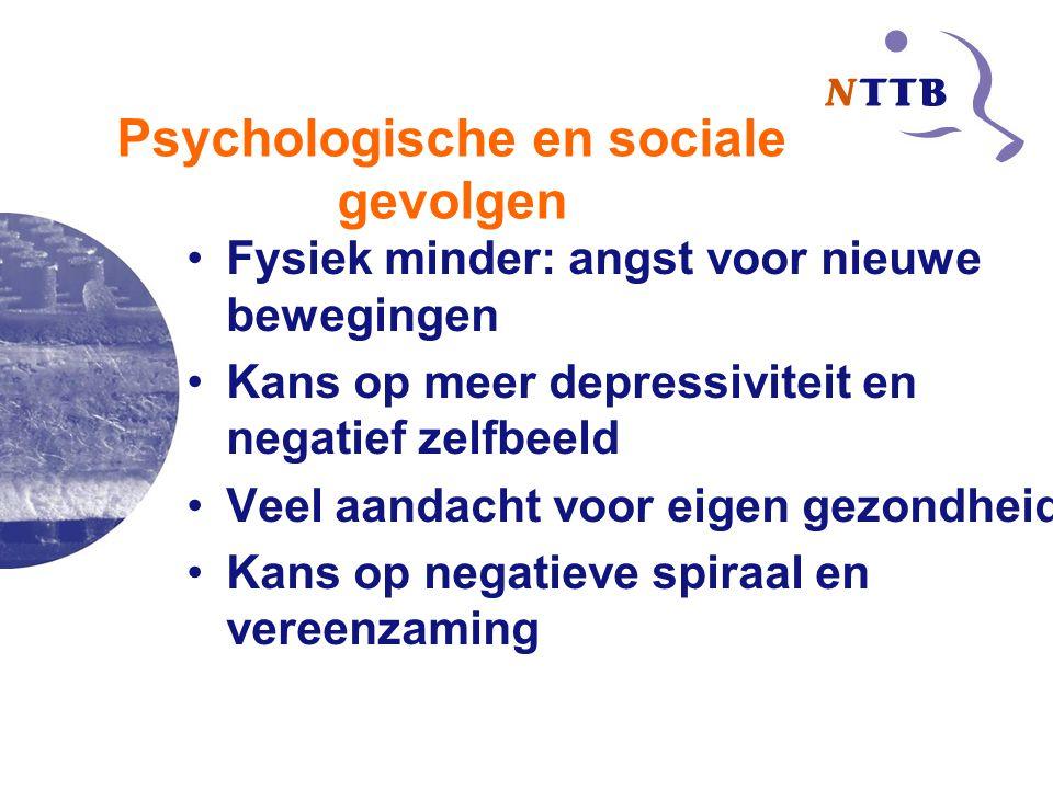 Psychologische en sociale gevolgen