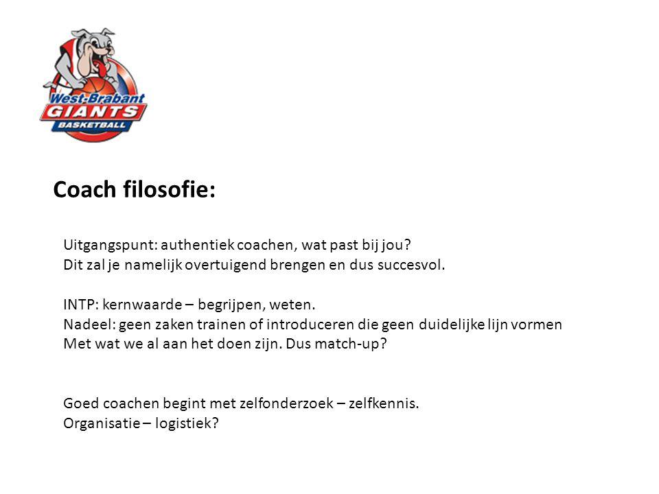 Coach filosofie: Uitgangspunt: authentiek coachen, wat past bij jou