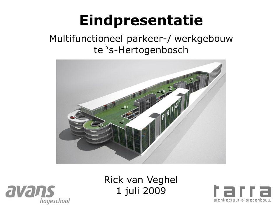 Multifunctioneel parkeer-/ werkgebouw