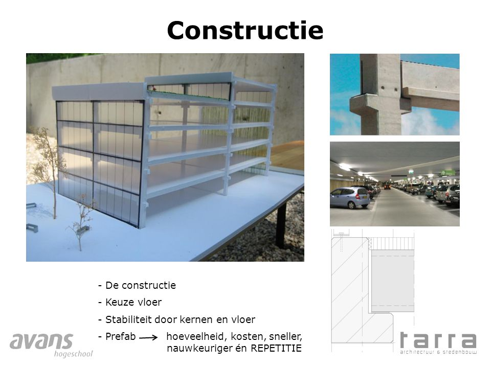 Constructie De constructie Keuze vloer