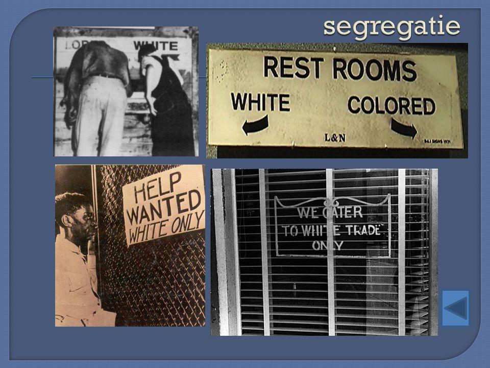 segregatie