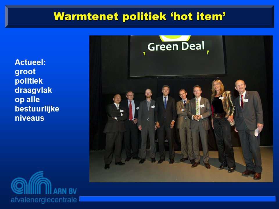 Warmtenet politiek 'hot item'