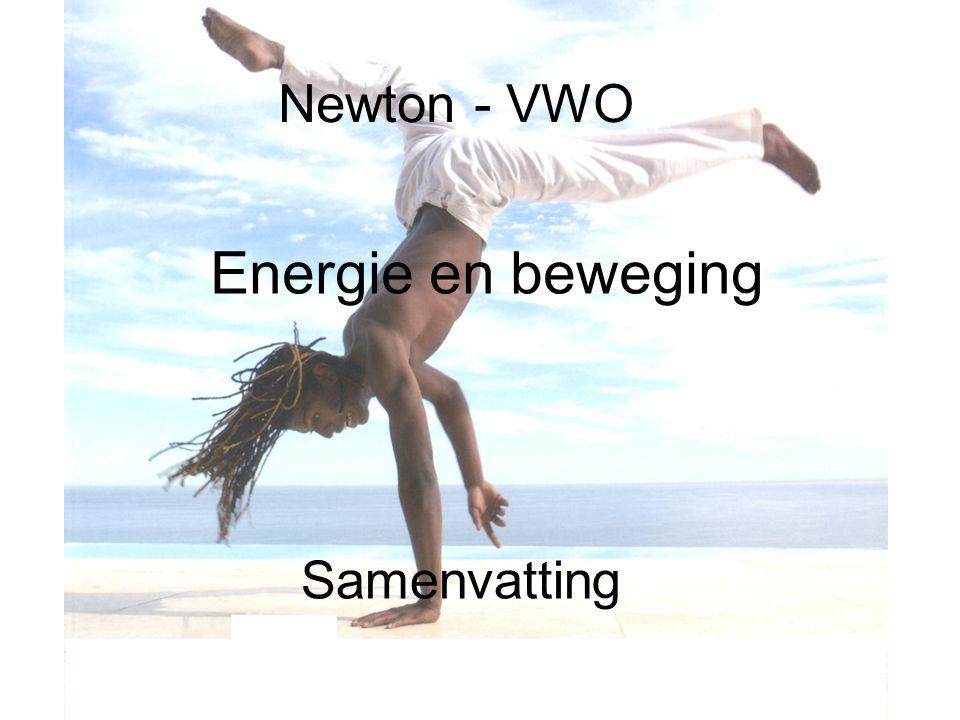 Newton - VWO Energie en beweging Samenvatting