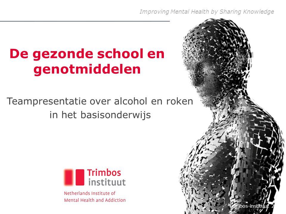 De gezonde school en genotmiddelen