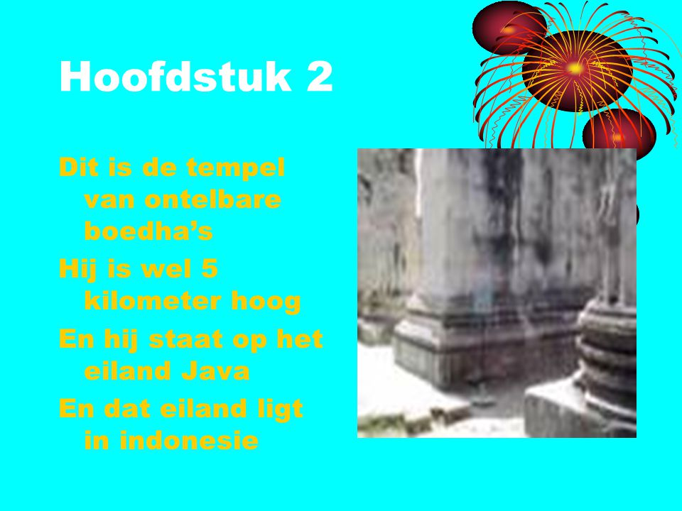 Hoofdstuk 2 Dit is de tempel van ontelbare boedha's