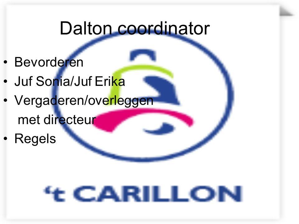 Dalton coordinator Bevorderen Juf Sonia/Juf Erika