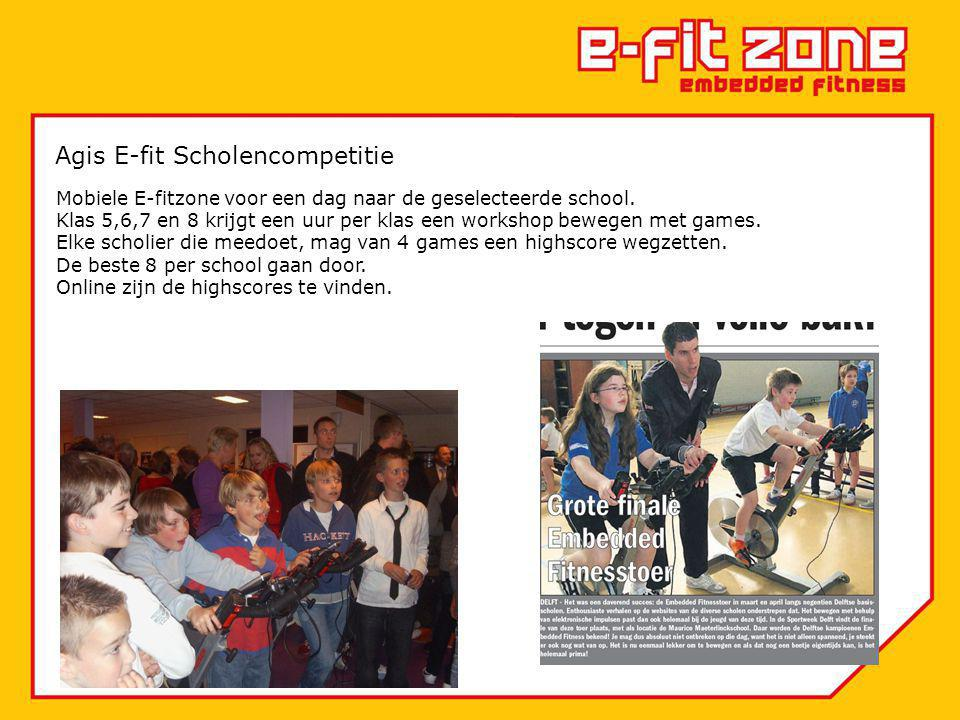 Agis E-fit Scholencompetitie