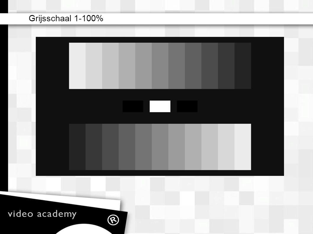 Grijsschaal 1-100%