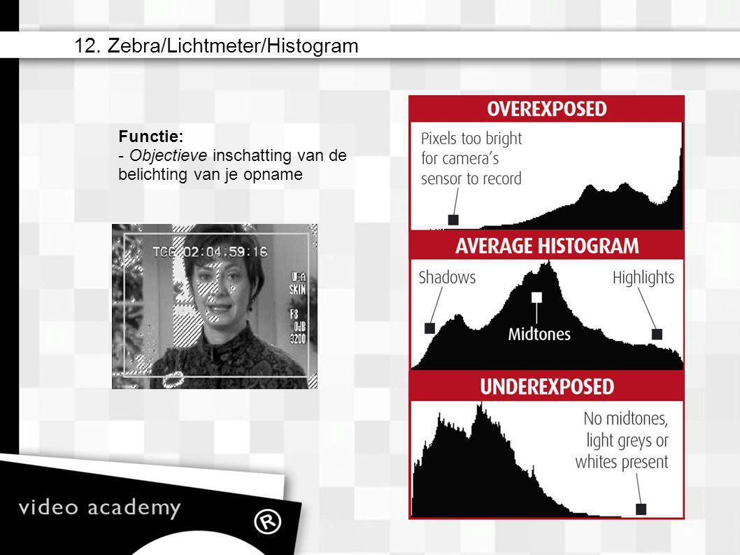 12. Zebra/Lichtmeter/Histogram