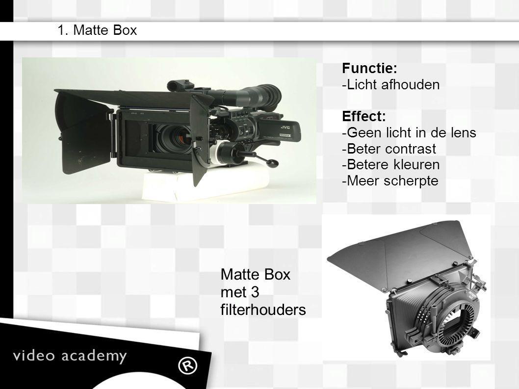 Matte Box met 3 filterhouders