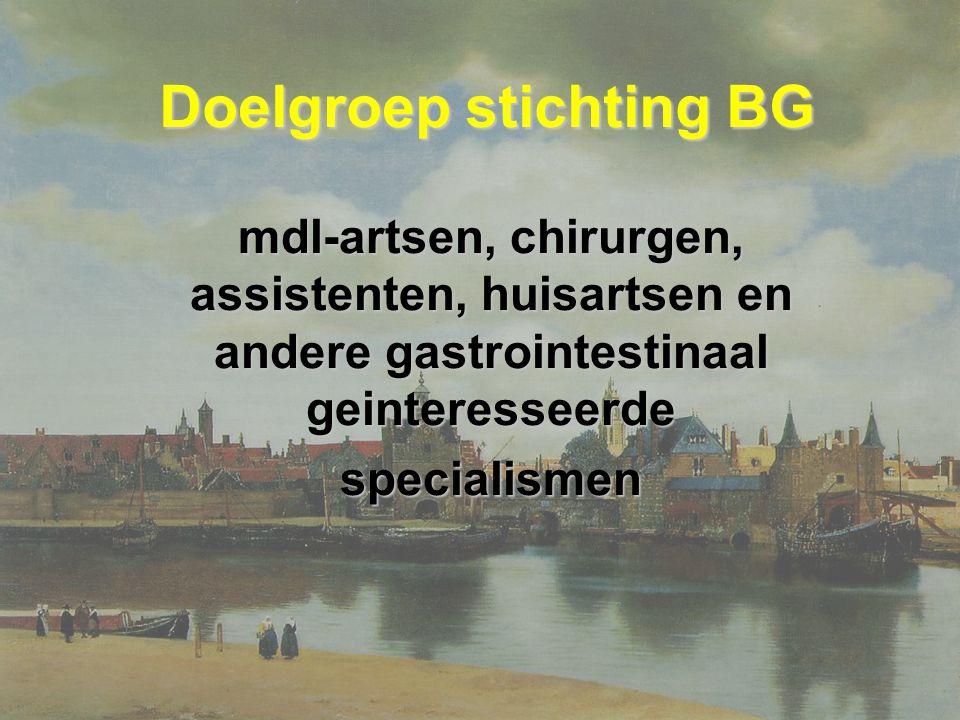 Doelgroep stichting BG