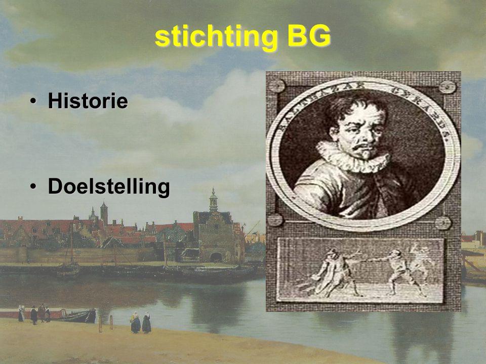 stichting BG Historie Doelstelling