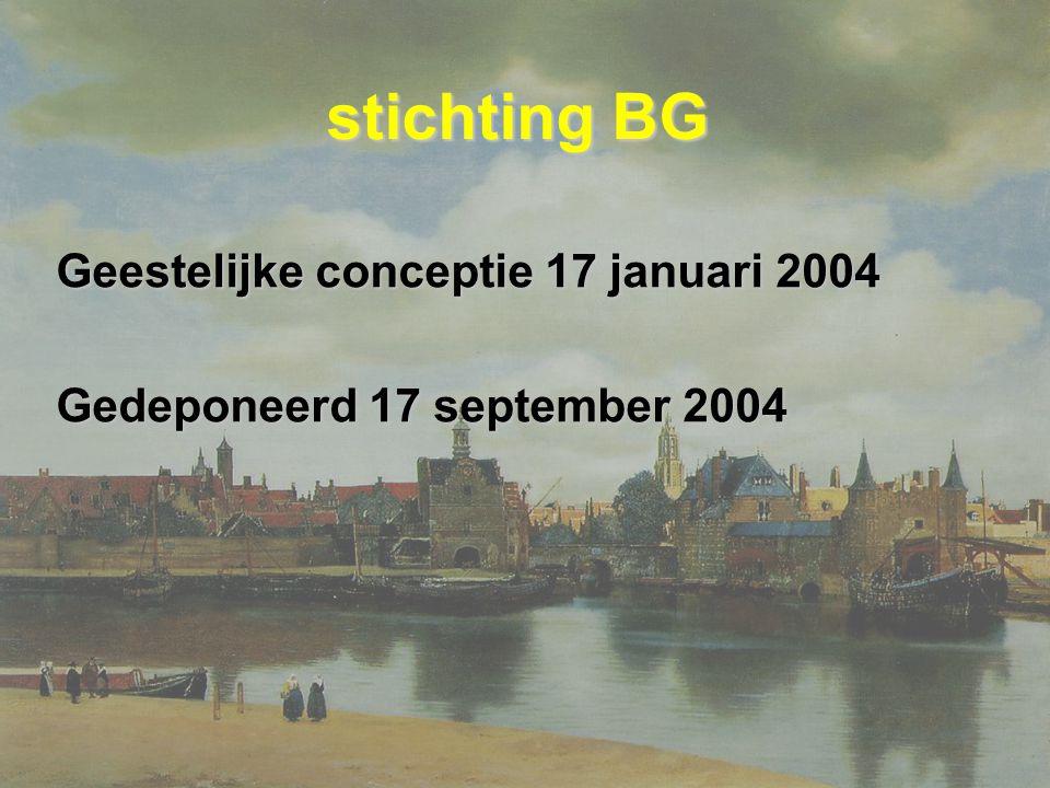 stichting BG Geestelijke conceptie 17 januari 2004