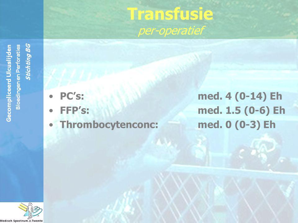 Transfusie per-operatief
