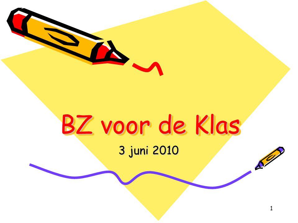 BZ voor de Klas 3 juni 2010