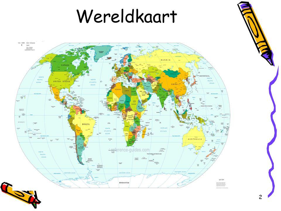 Wereldkaart Introductie