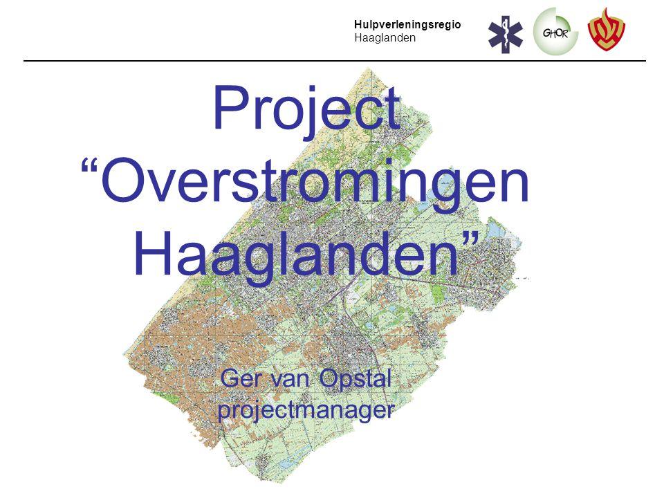 Project Overstromingen Haaglanden Ger van Opstal projectmanager