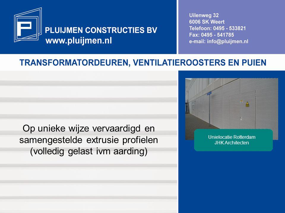 Unielocatie Rotterdam JHK Architecten