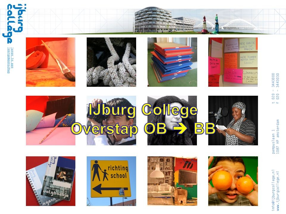 IJburg College Overstap OB  BB