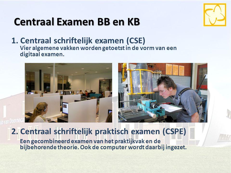 Centraal Examen BB en KB