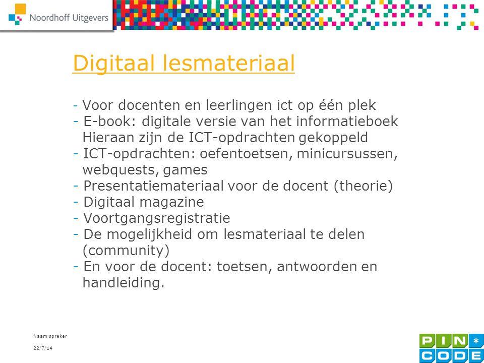 Digitaal lesmateriaal