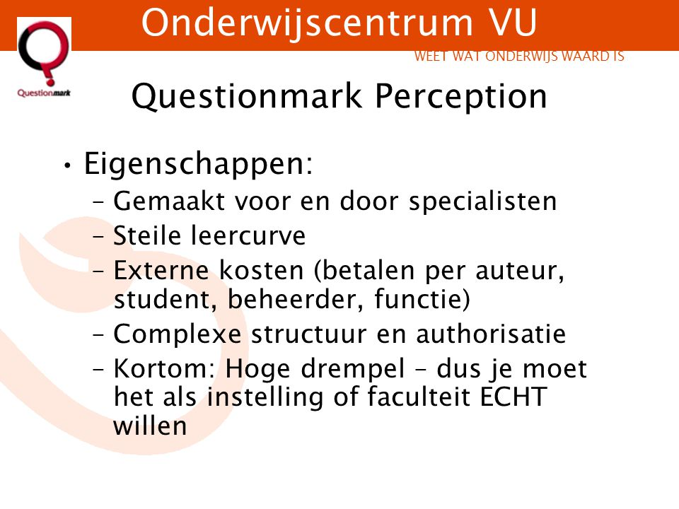 Questionmark Perception