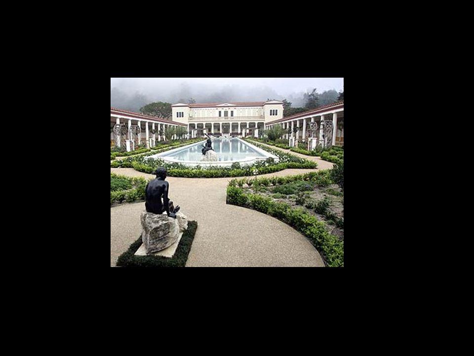 Getty villa LA = kopie Herculaneum