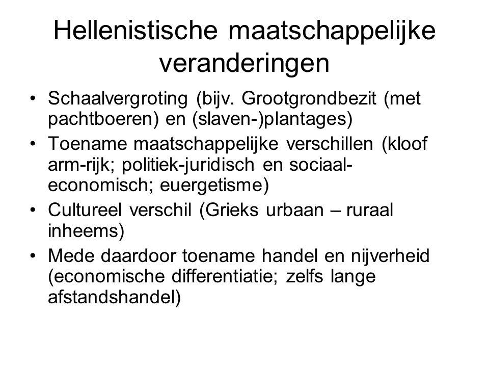 Hellenistische maatschappelijke veranderingen
