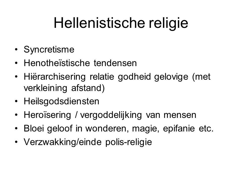 Hellenistische religie