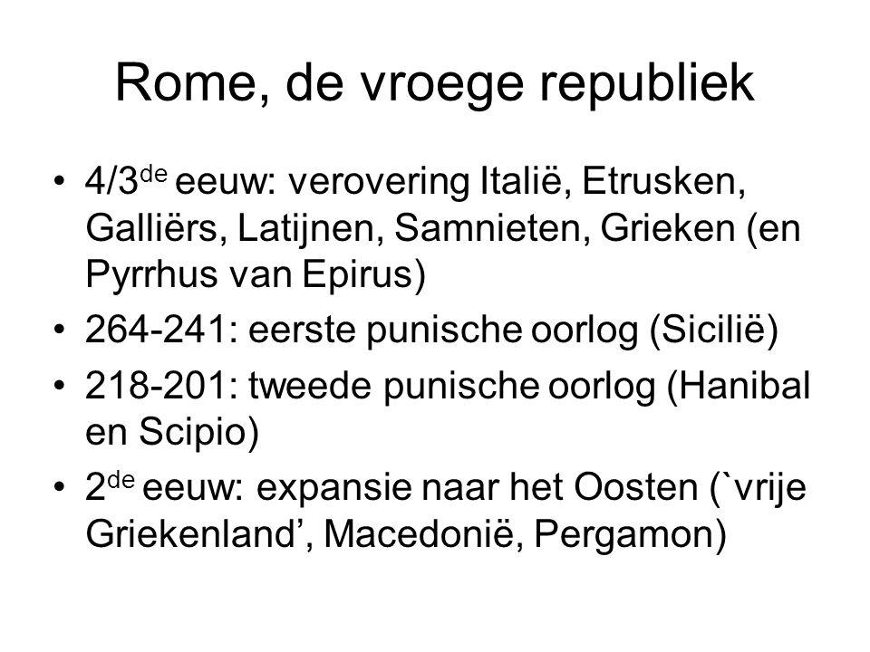 Rome, de vroege republiek