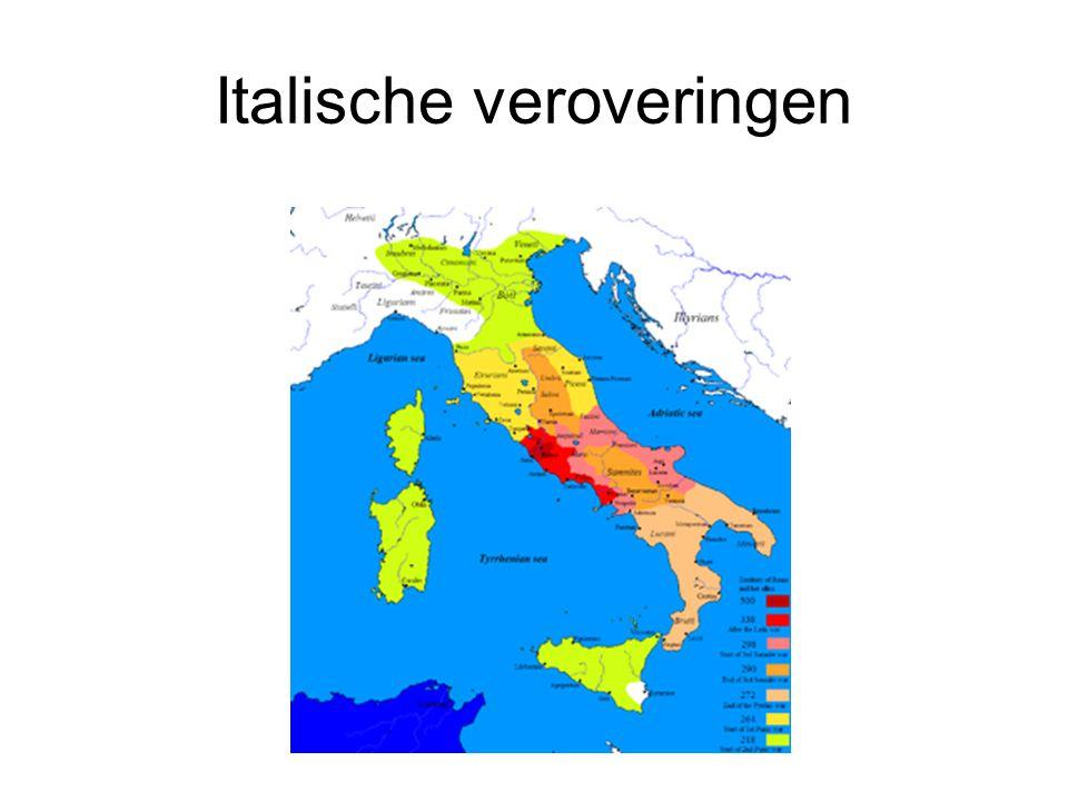 Italische veroveringen