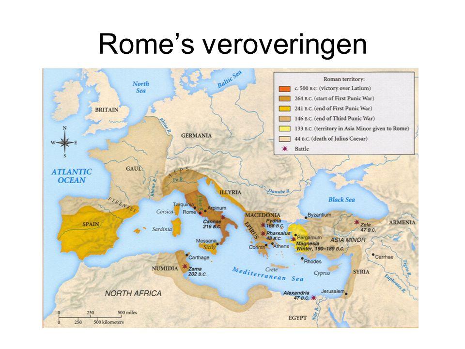 Rome's veroveringen