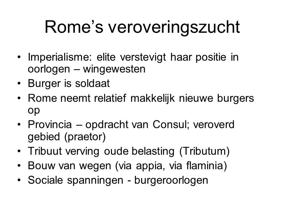 Rome's veroveringszucht