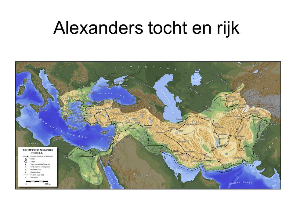 Alexanders tocht en rijk