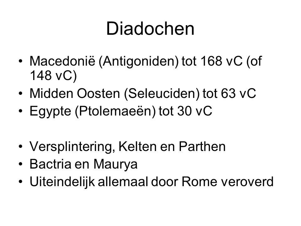 Diadochen Macedonië (Antigoniden) tot 168 vC (of 148 vC)
