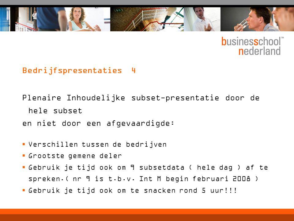 Bedrijfspresentaties 4