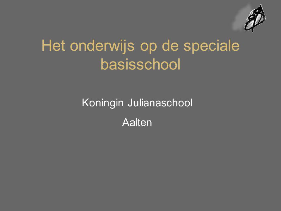 Het onderwijs op de speciale basisschool