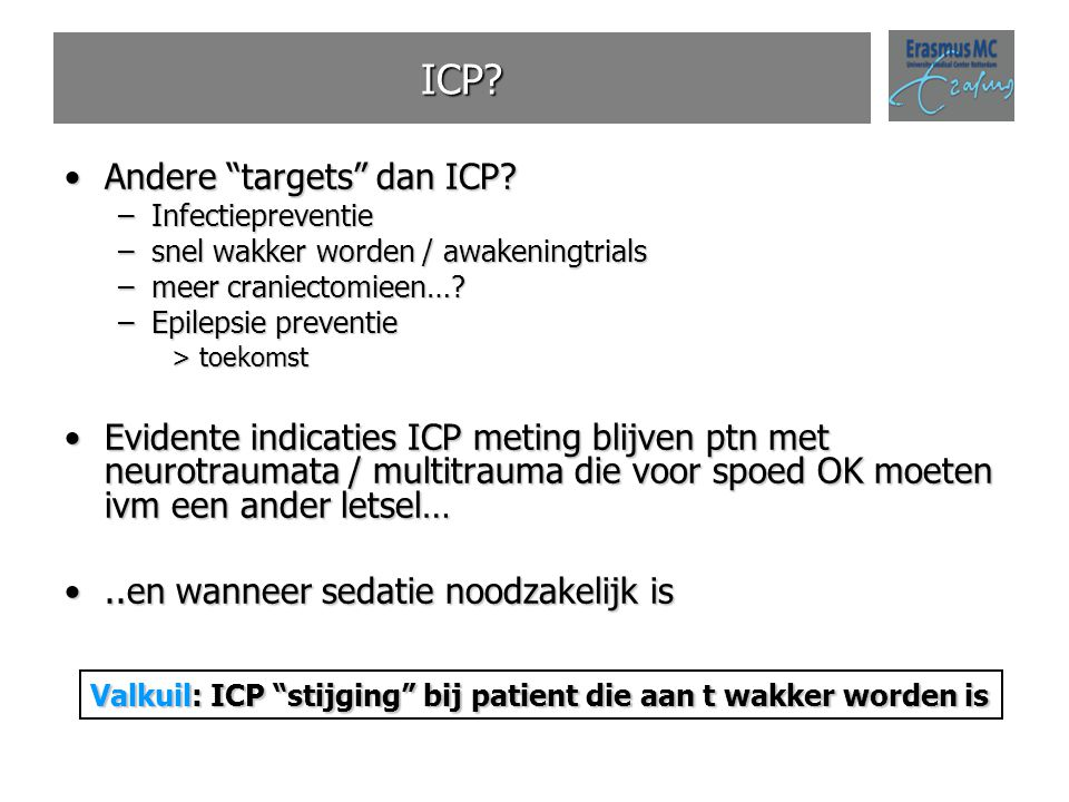 ICP Andere targets dan ICP