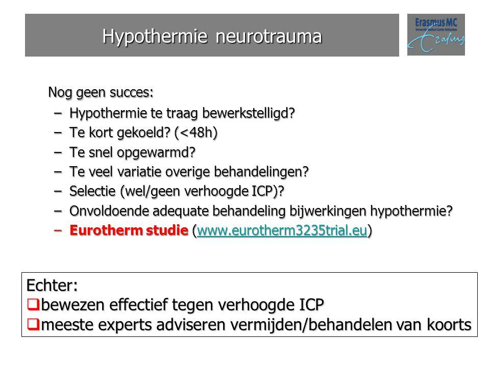 Hypothermie neurotrauma