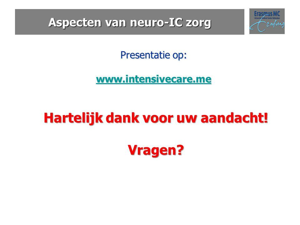 Aspecten van neuro-IC zorg